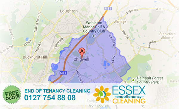 Chigwell End of Tenancy Cleaners