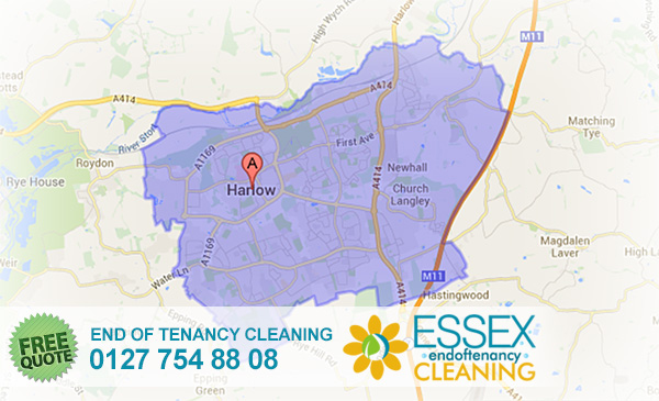 Harlow End of Tenancy Cleaners