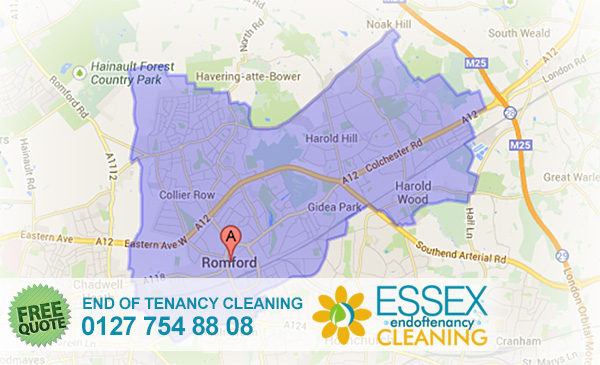 Romford End of Tenancy Cleaners