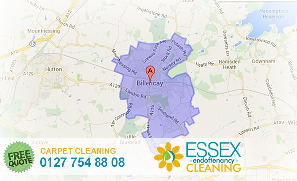 image of carpet cleaning Billericay
