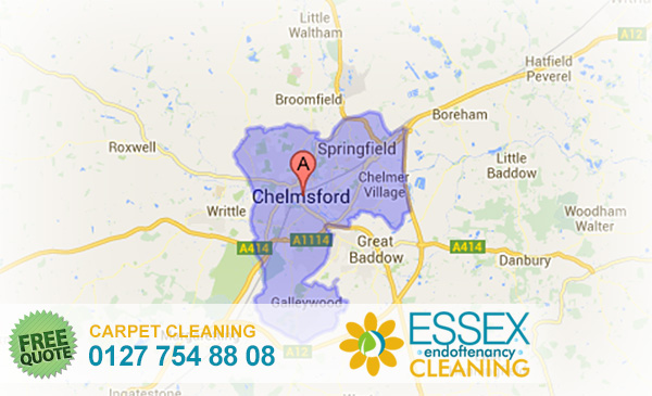 image of carpet cleaning Chelmsford