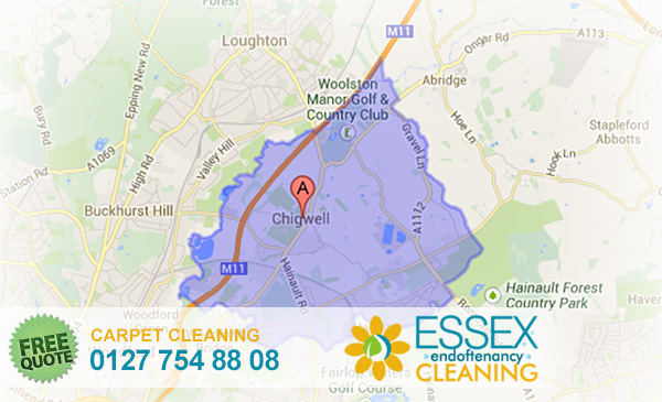 image of carpet cleaning Chigwell