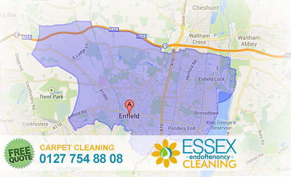image of carpet cleaning Enfield