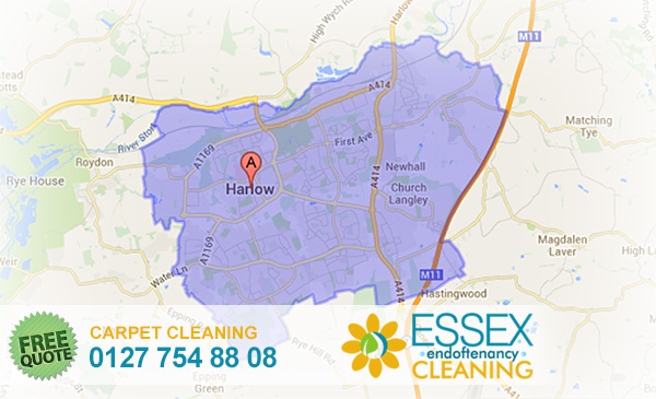 image of carpet cleaning Harlow