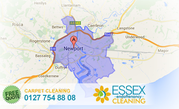 image of carpet cleaning Newport