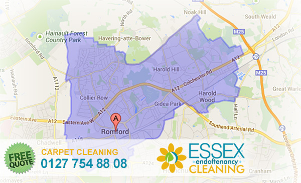 image of carpet cleaning Romford