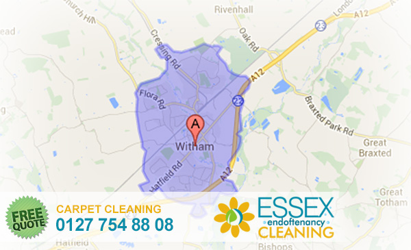 image of carpet cleaning Witham