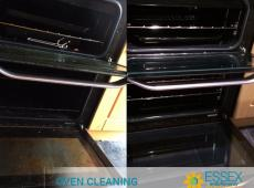 image of oven cleaning in essex